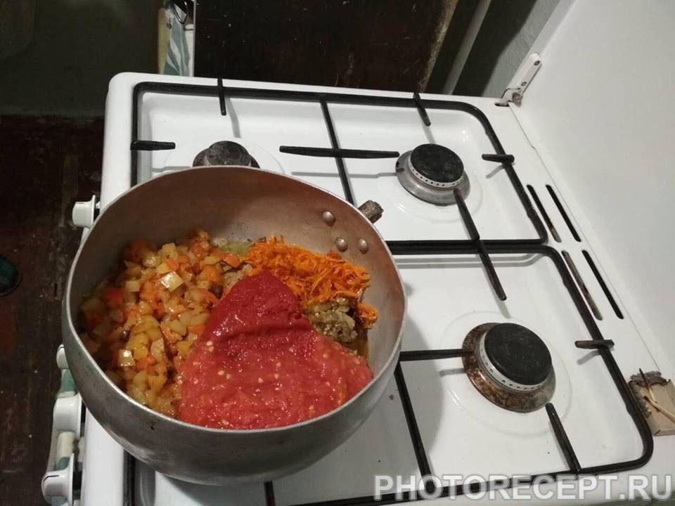 Фото рецепта - Овощное сате - шаг 6
