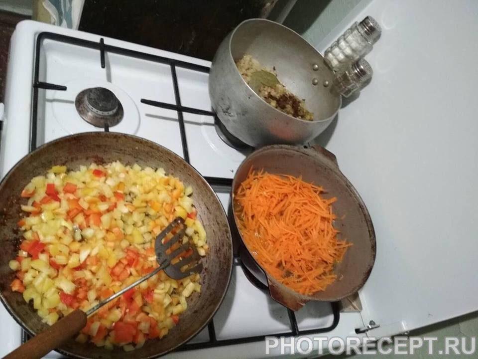 Фото рецепта - Овощное сате - шаг 5