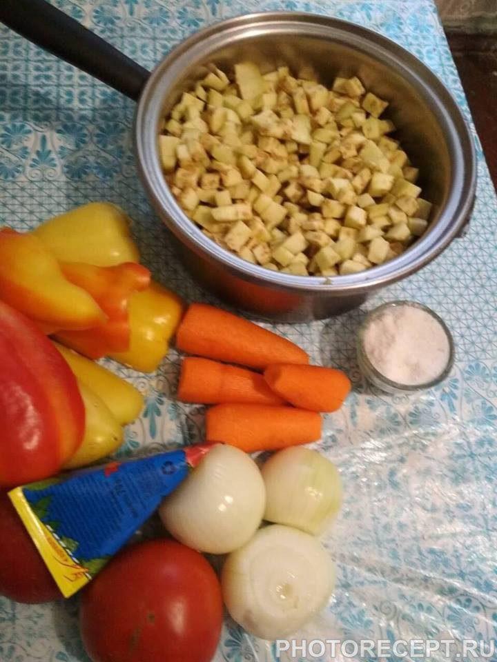 Фото рецепта - Овощное сате - шаг 2
