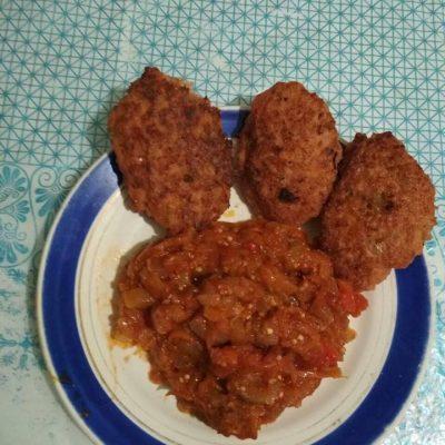Овощное сате - рецепт с фото