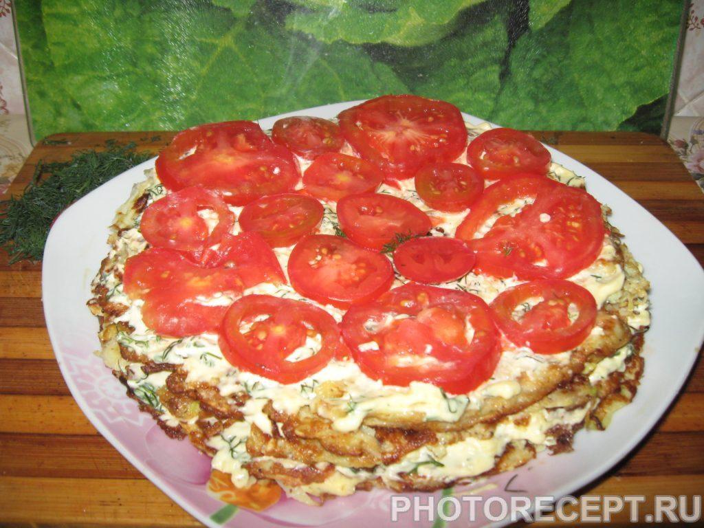 Фото рецепта - Торт из кабачков - шаг 5