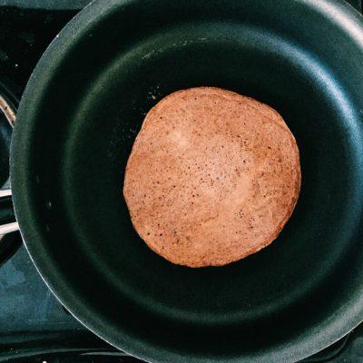 Фото рецепта - Вкусейший ПП-блинчик из клетчатки - шаг 4