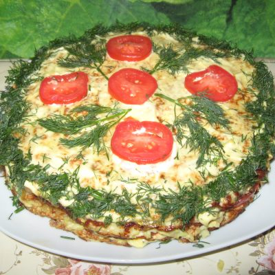 Торт из кабачков - рецепт с фото
