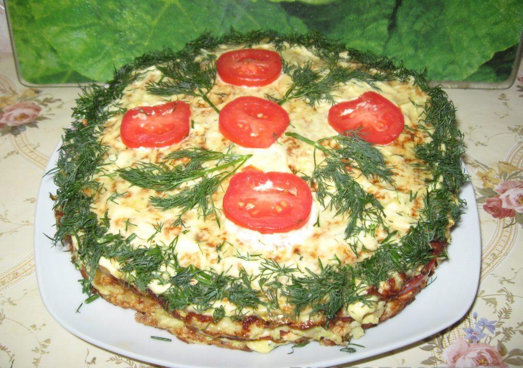 Фото рецепта - Торт из кабачков - шаг 6