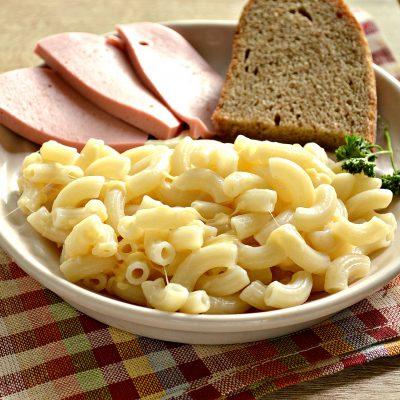 Макароны с сыром - рецепт с фото