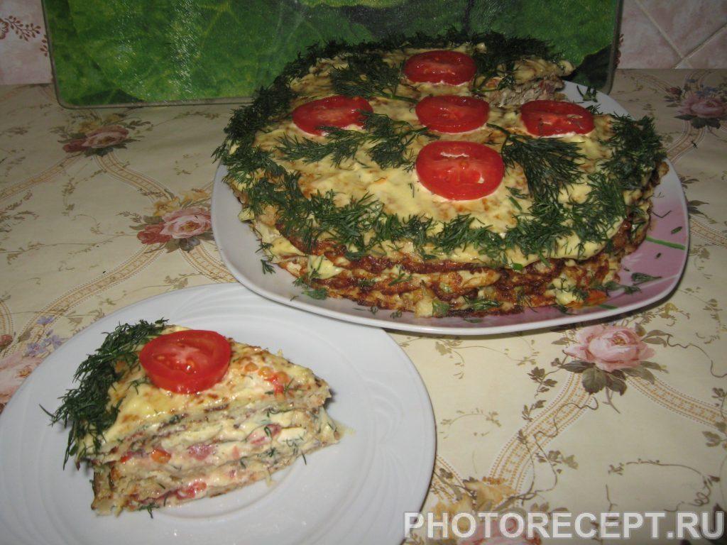 Фото рецепта - Торт из кабачков - шаг 7