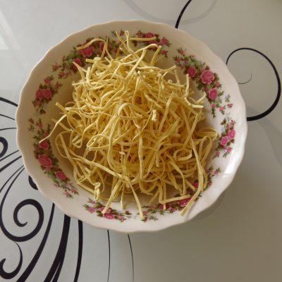 Фото рецепта - Суп куриный от холостяка - шаг 6