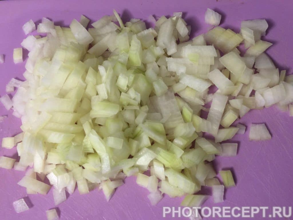 Фото рецепта - Паста под сливочным соусом с курицей и грибами - шаг 1