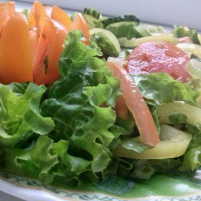 Салат витаминный - рецепт с фото