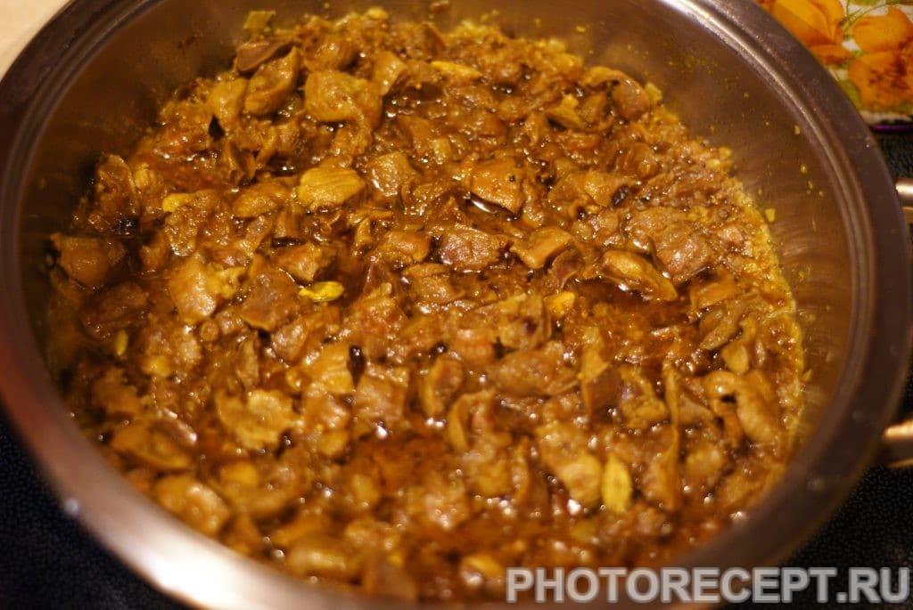 Фото рецепта - Пряные куриные желудки в соевом соусе - шаг 11
