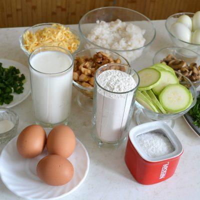 Фото рецепта - Закусочный пирог - шаг 1
