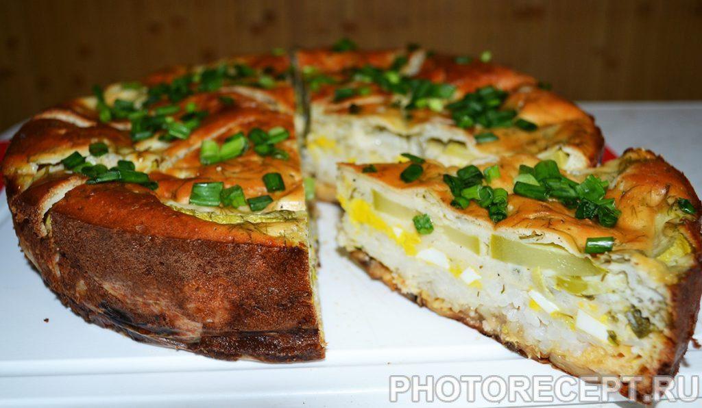 Фото рецепта - Закусочный пирог - шаг 12