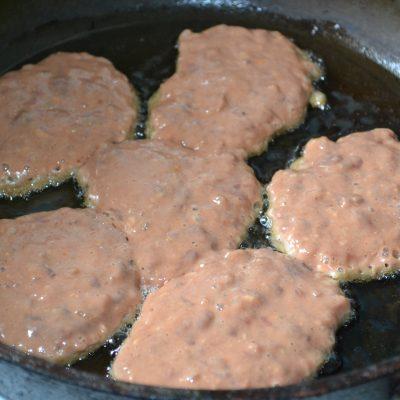 Фото рецепта - Печеночные оладьи - шаг 4