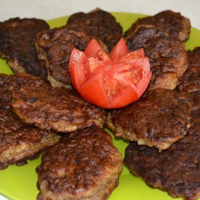 Печеночные оладьи - рецепт с фото