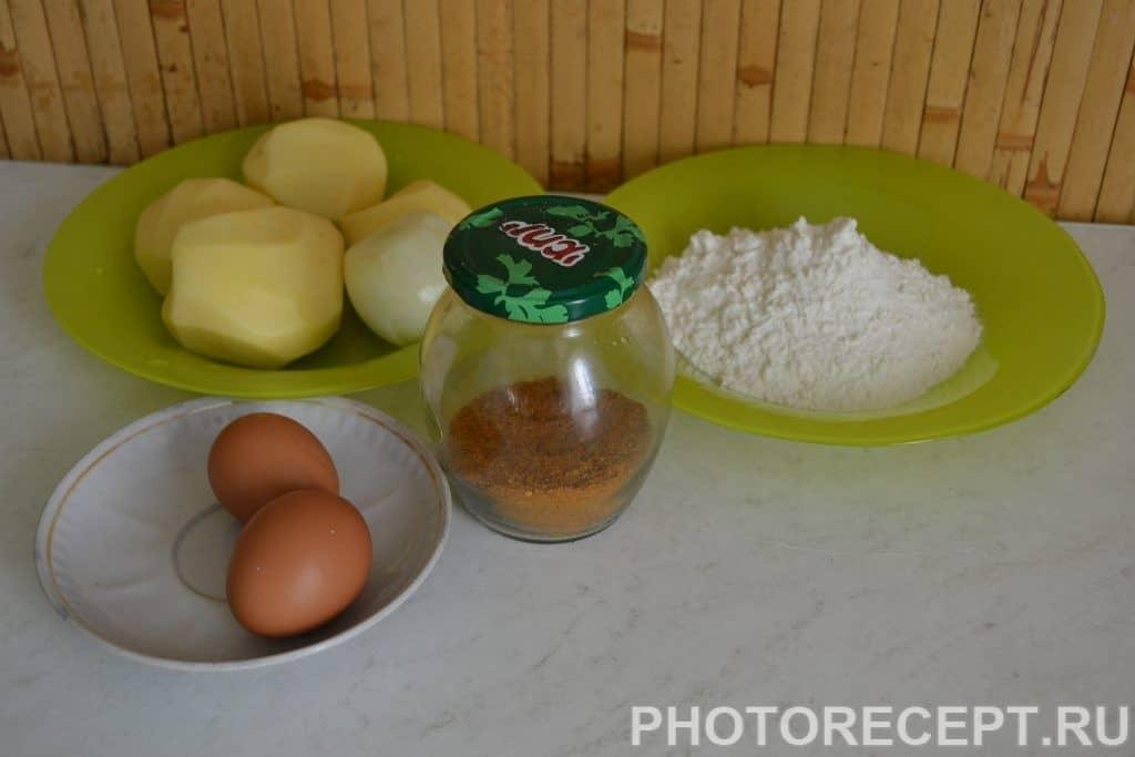 Фото рецепта - Картофельные драники - шаг 1