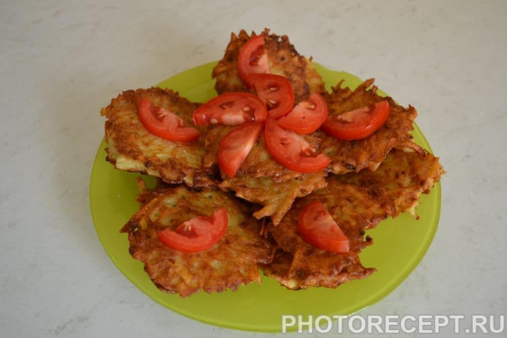 Фото рецепта - Картофельные драники - шаг 7