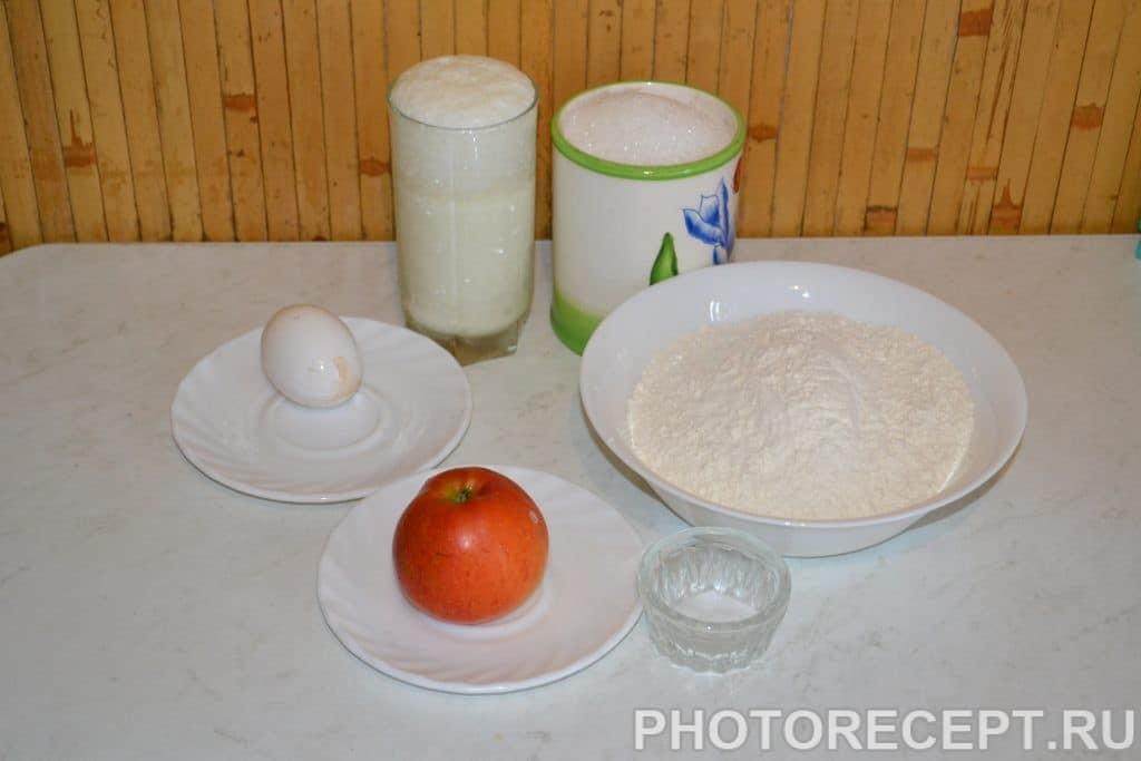 Фото рецепта - Оладьи с яблоками - шаг 1