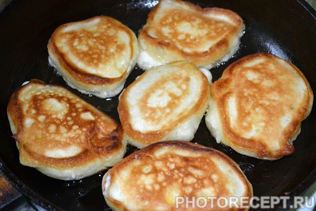Фото рецепта - Оладьи с яблоками - шаг 8
