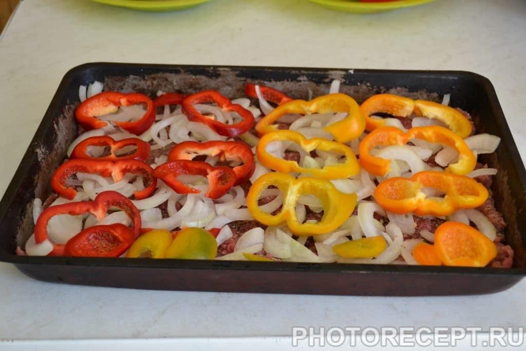 Фото рецепта - Запеченные овощи с фаршем - шаг 4