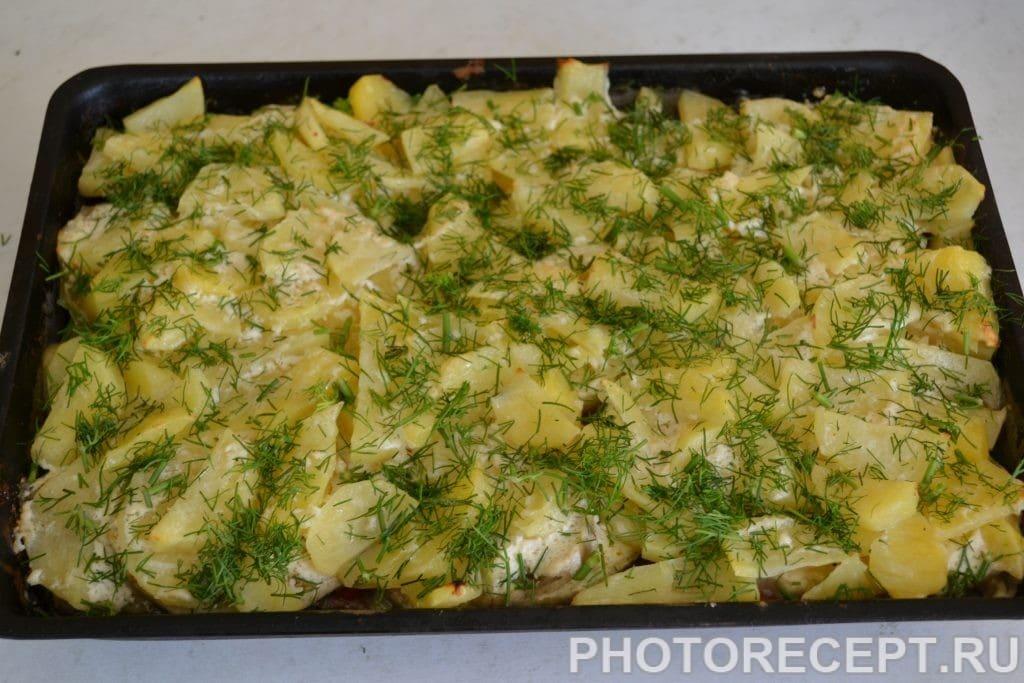 Фото рецепта - Запеченные овощи с фаршем - шаг 11