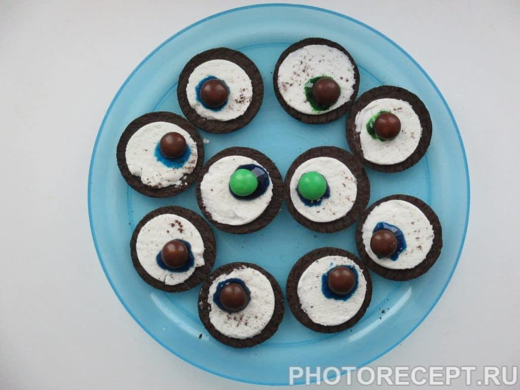Фото рецепта - Печенье – Глаза Монстра - шаг 5