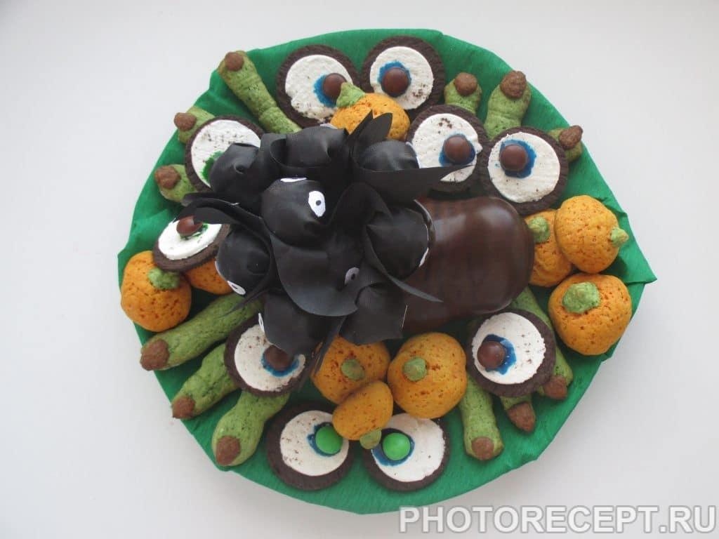 Фото рецепта - Печенье – Глаза Монстра - шаг 6
