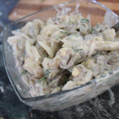 Фото рецепта - Салат с баклажанами - шаг 5
