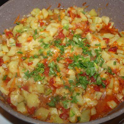Овощное рагу с кабачками - рецепт с фото
