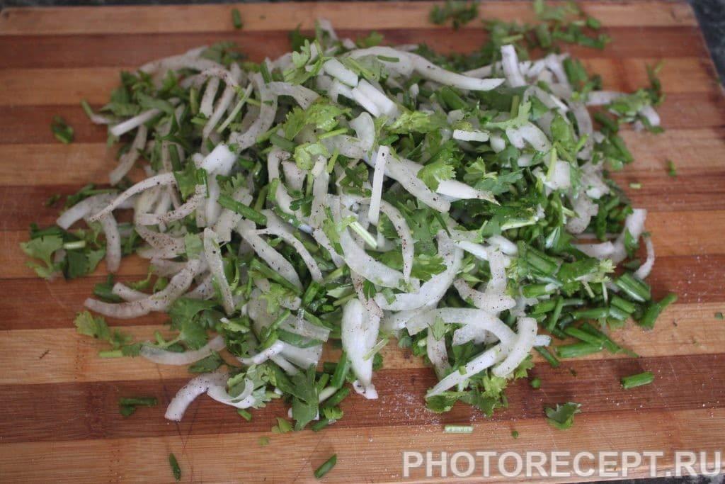 Фото рецепта - Закуска из колбасы - шаг 1