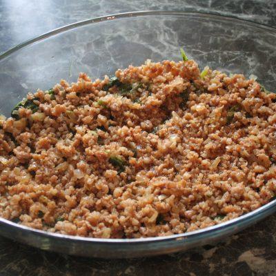 Фото рецепта - Запеканка с фаршем и шпинатом - шаг 5