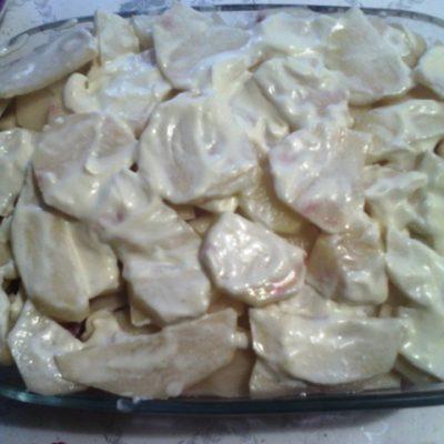 Фото рецепта - Картофельная запеканка  с мясным фаршем - шаг 7