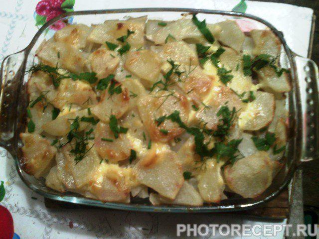 Фото рецепта - Картофельная запеканка  с мясным фаршем - шаг 8