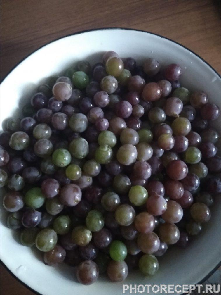 Фото рецепта - Повидло из винограда и груш - шаг 1