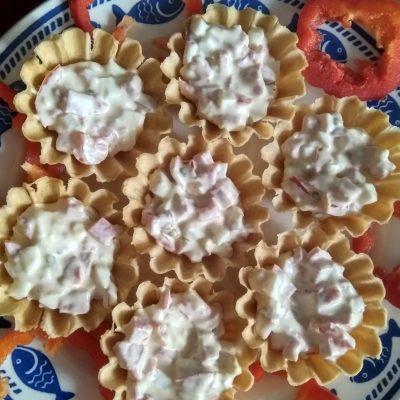 Тарталетки с начинкой - рецепт с фото