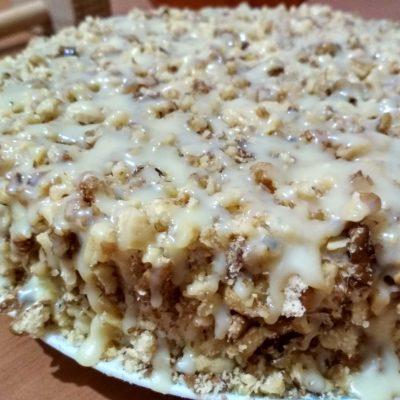 Яблочный торт - рецепт с фото