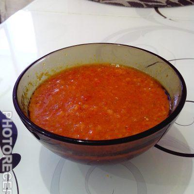 Аджика от холостяка - рецепт с фото