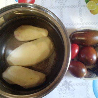 Фото рецепта - Овощное рагу с фрикадельками - шаг 1
