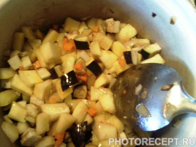 Фото рецепта - Овощное рагу с фрикадельками - шаг 5