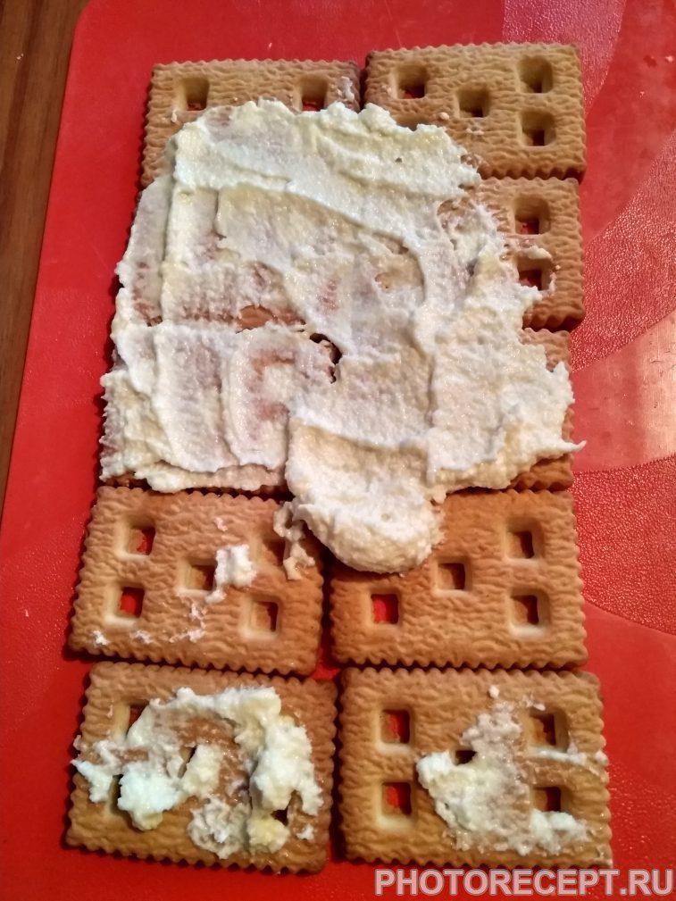 Фото рецепта - Торт без выпечки - шаг 2