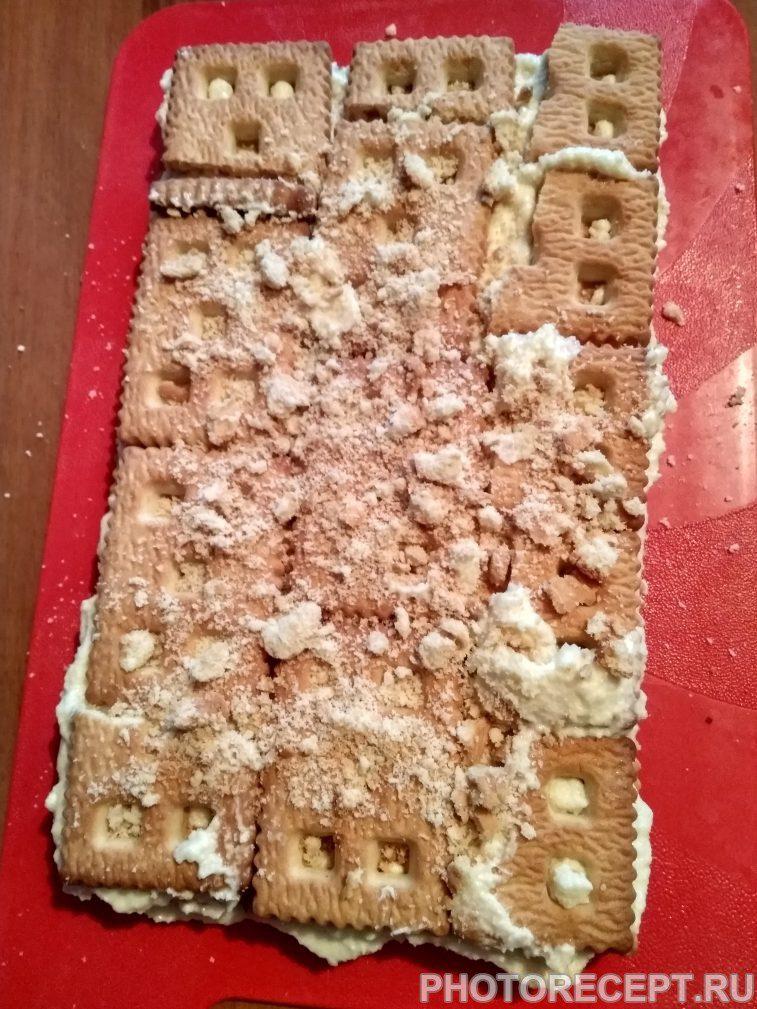 Фото рецепта - Торт без выпечки - шаг 3