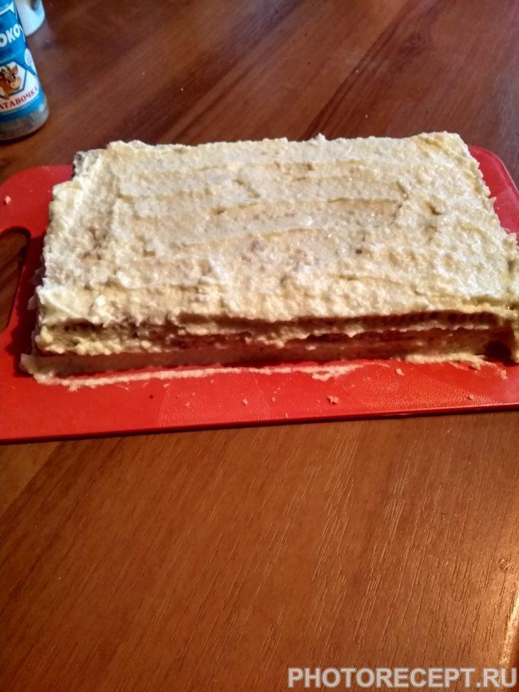 Фото рецепта - Торт без выпечки - шаг 4