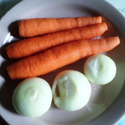 Фото рецепта - Свекольник классический с мясом - шаг 2