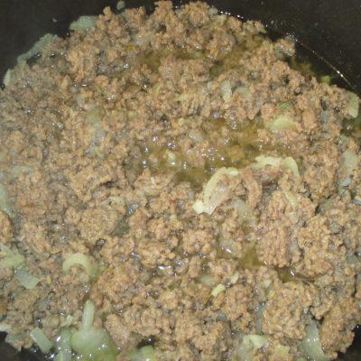 Фото рецепта - Каннеллони с мясным фаршем и соусом бешамель - шаг 2