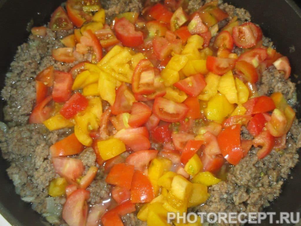 Фото рецепта - Каннеллони с мясным фаршем и соусом бешамель - шаг 3
