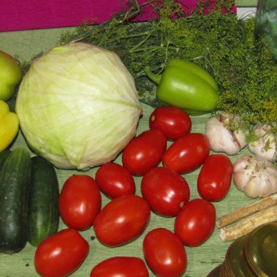 Фото рецепта - Маринованное ассорти из овощей - шаг 1