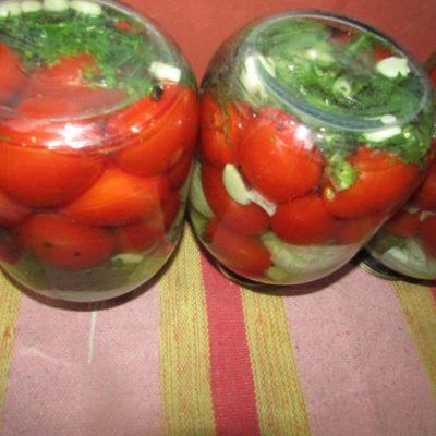 Фото рецепта - Маринованное ассорти из овощей - шаг 4