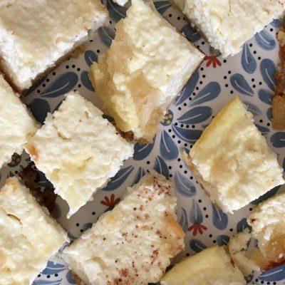 Пирог с творожной начинкой - рецепт с фото