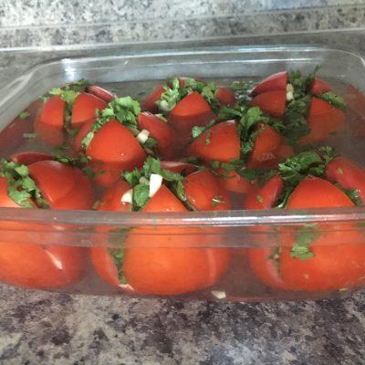 Армянчики – маринованные помидоры - рецепт с фото