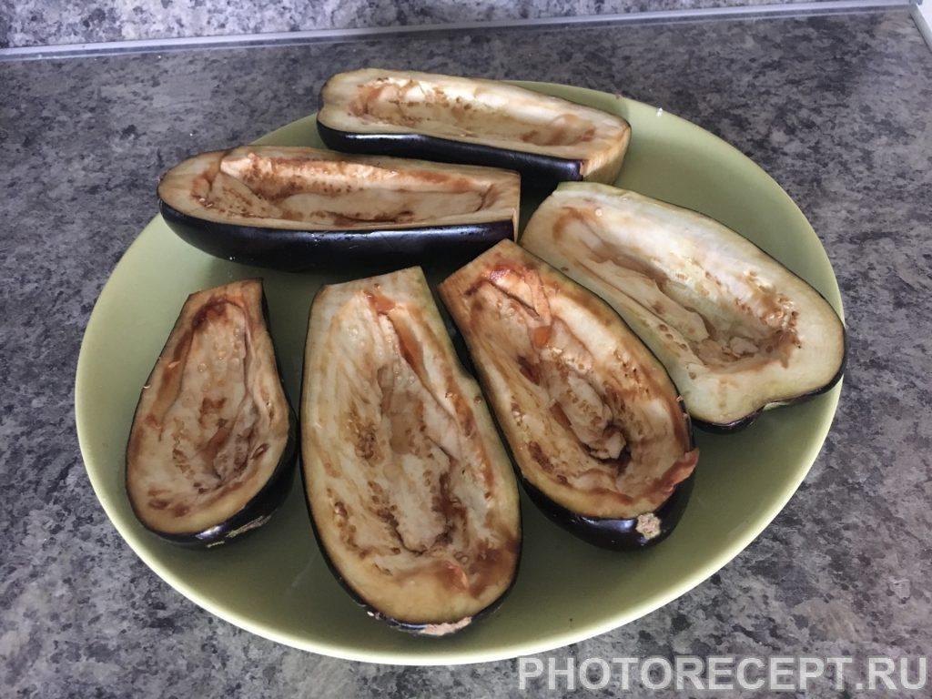 Фото рецепта - Фаршированные баклажаны - шаг 2