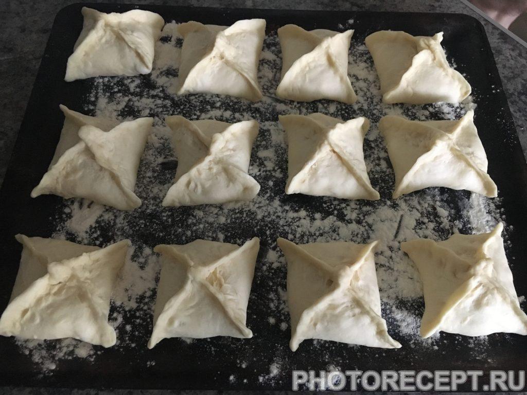 Фото рецепта - Конвертики из куриного филе с сыром - шаг 7
